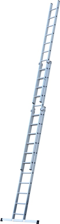 Werner 3 Section Trade Extension Ladder - 3.38m