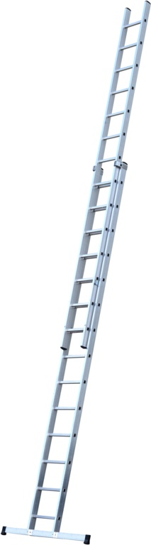 Werner 2 Section Trade Extension Ladder - 4.25m