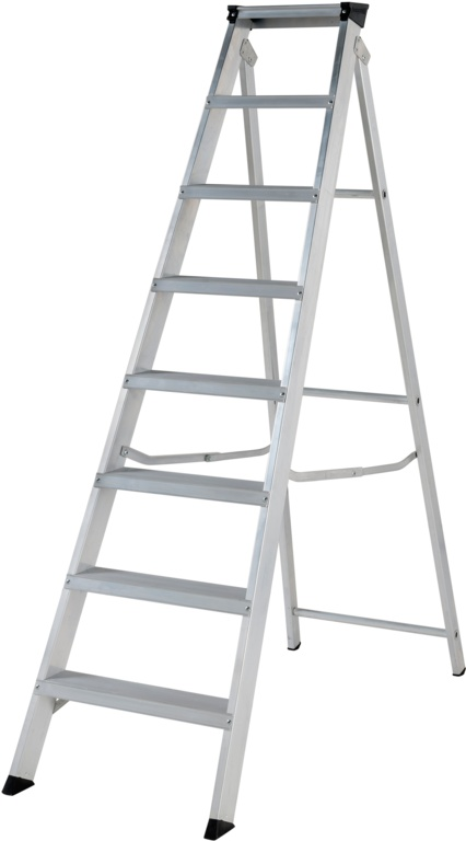 Werner Builders Stepladder - 8 Tread