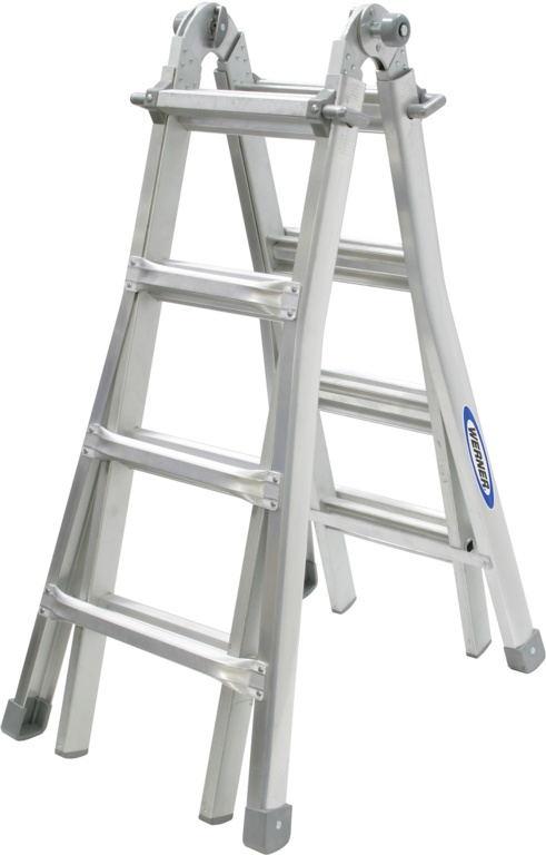 Werner Combination Ladder - 4 Way
