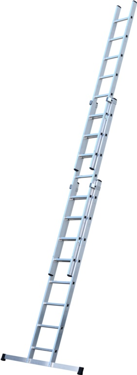 Werner 3 Section Trade Extension Ladder - 2.51m