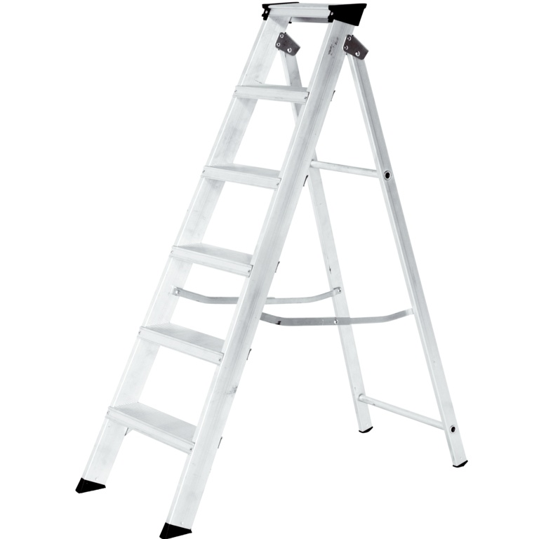 Werner Builders Stepladder - 6 Tread