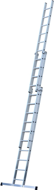 Werner 3 Section Trade Extension Ladder - 3.09m