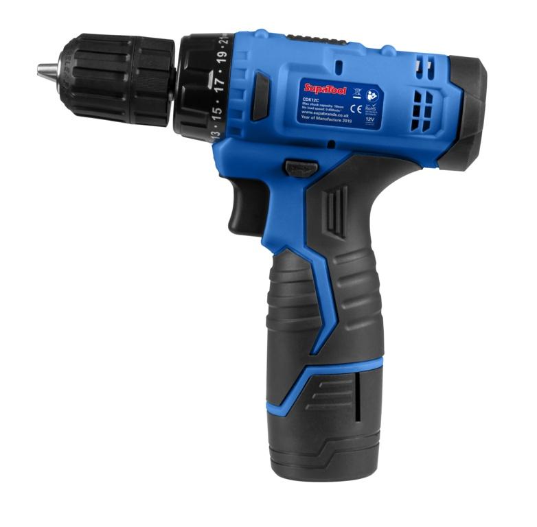 SupaTool 12v Cordless Hammer Drill & Driver