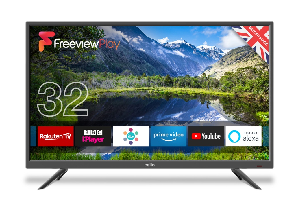 Cello Freeview Plus Play Smart TV - 32""