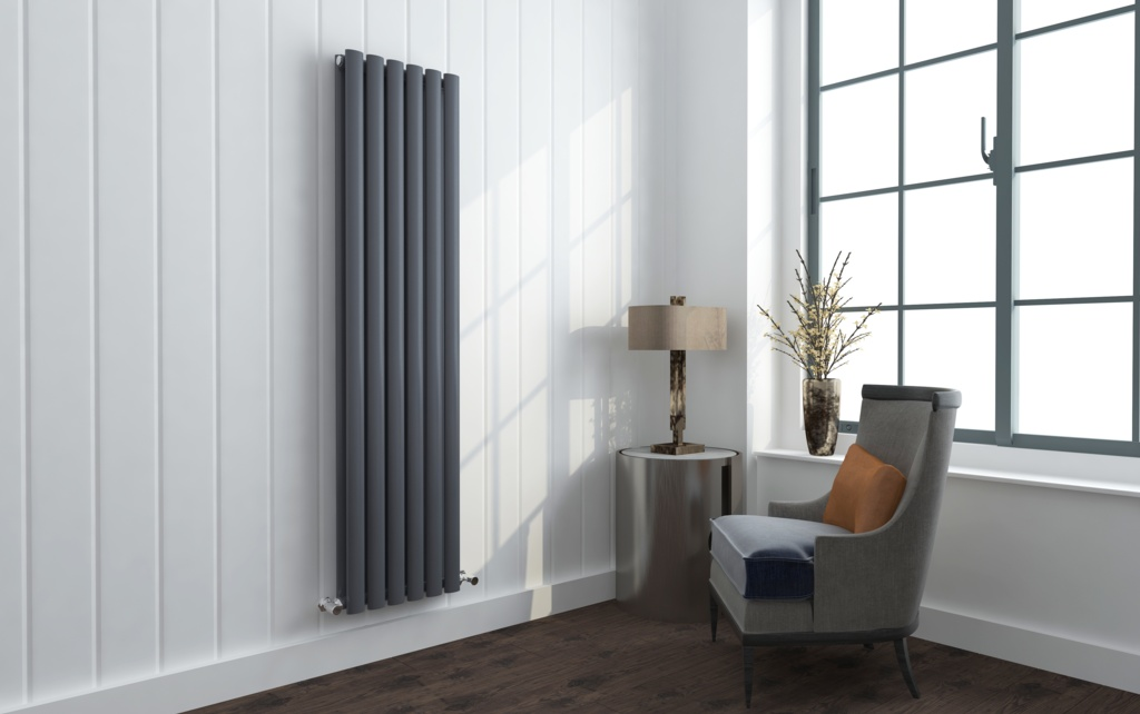 SP Anthracite Designer Radiator - 360mm x 1600mm
