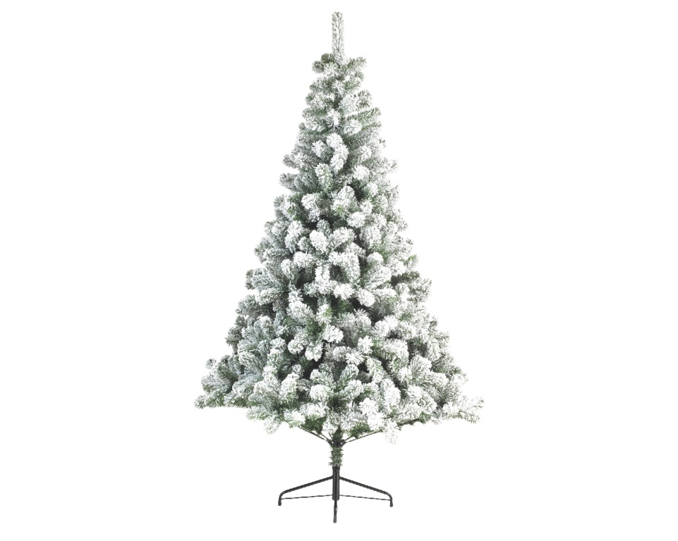 Kaemingk Snowy Imperial Pine Tree - 300cm Green/White