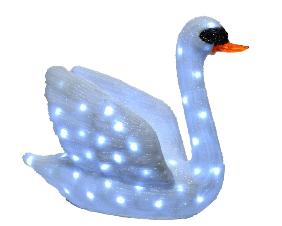 Kaemingk LED Acrylic Swan