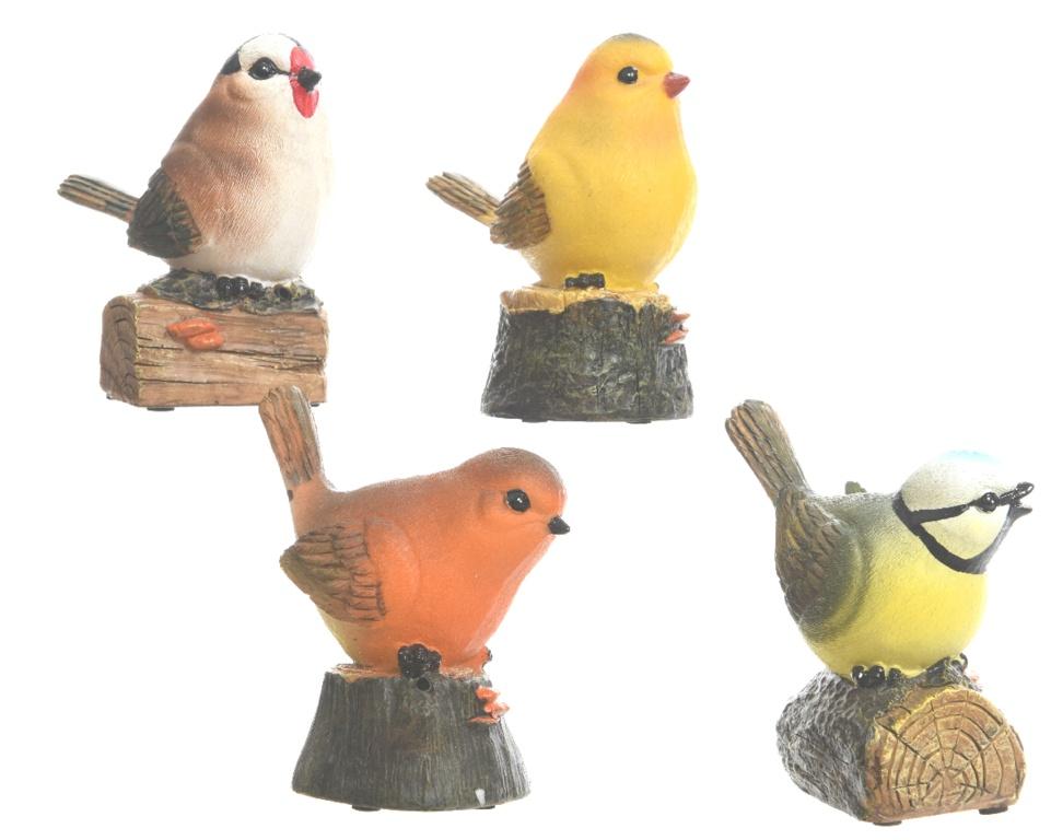 Kaemingk Poly Bird With Sensor - Natural