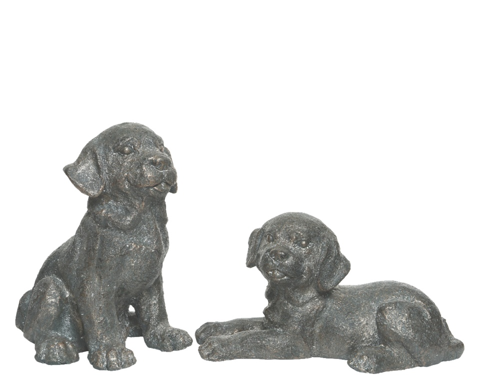 Kaemingk Poly Magnesium Dog - Antique Copper