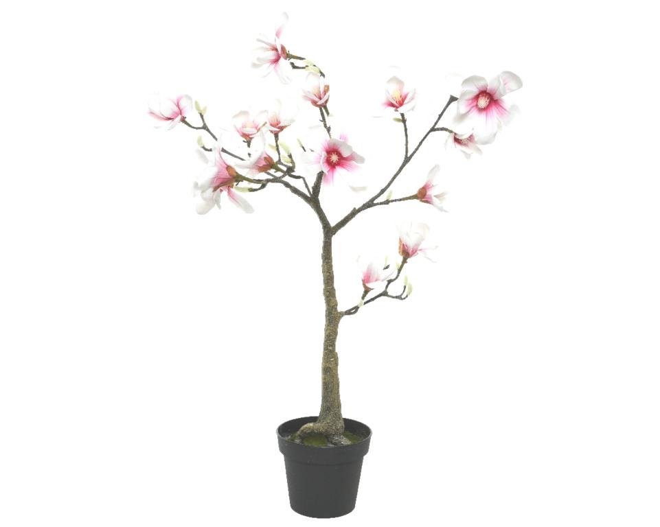 Kaemingk Magnolia In Pot - Soft Pink