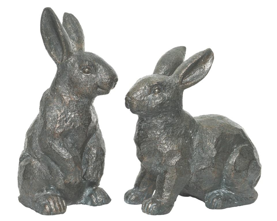 Kaemingk Poly Magnesium Rabbit - Antique Copper