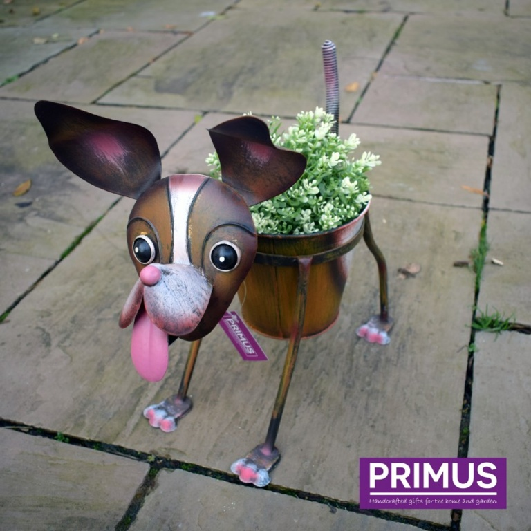 Primus Nodding Dog Planter