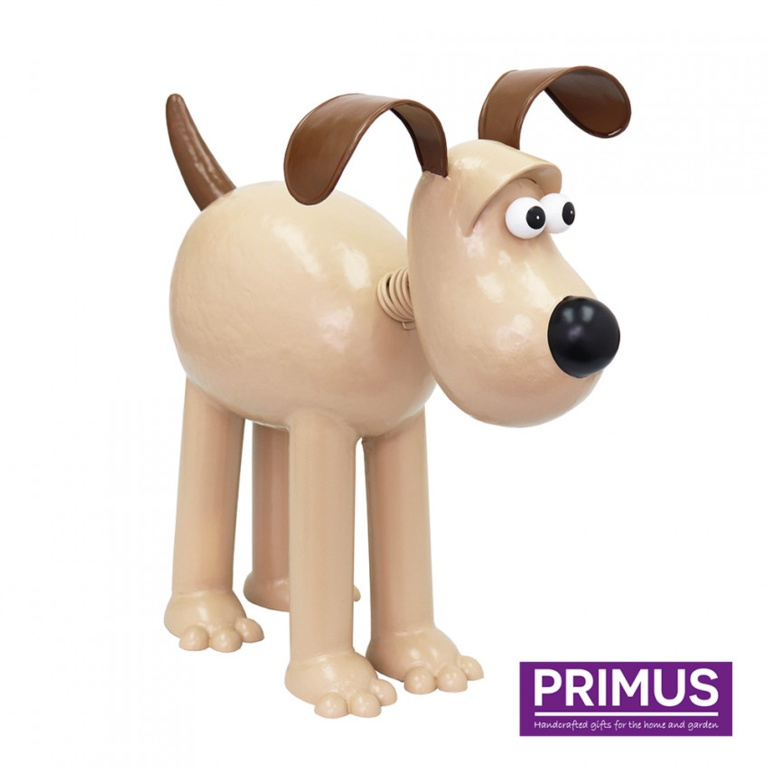 Primus Gromit Metal Sculpture