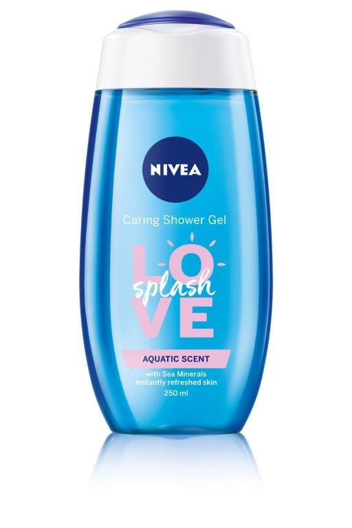 Nivea Love Splash Shower Gel 250ml - Aquatic Scent