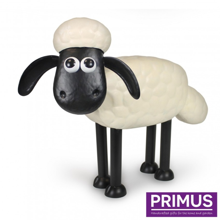 Primus Shaun The Sheep Metal Sculpture