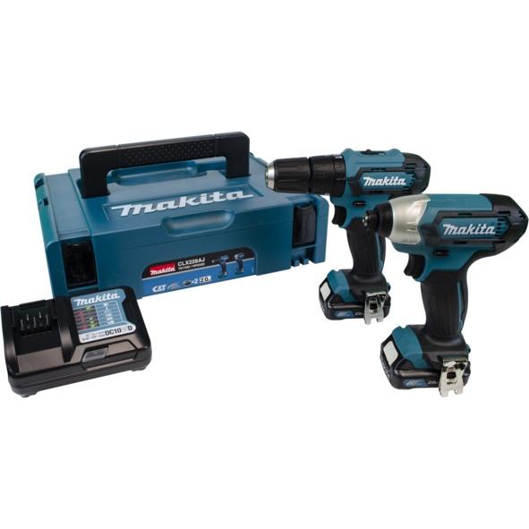 Makita 12V Combi Drill & Impact Driver - 2 Piece
