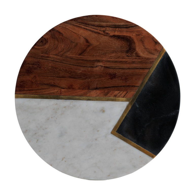 Typhoon 30cm Chopping Board - Marble Acacia
