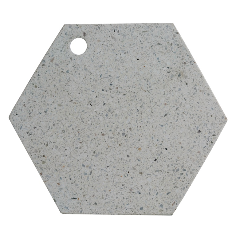 Typhoon 30cm Chopping Board - Terrazzo Hexagonal