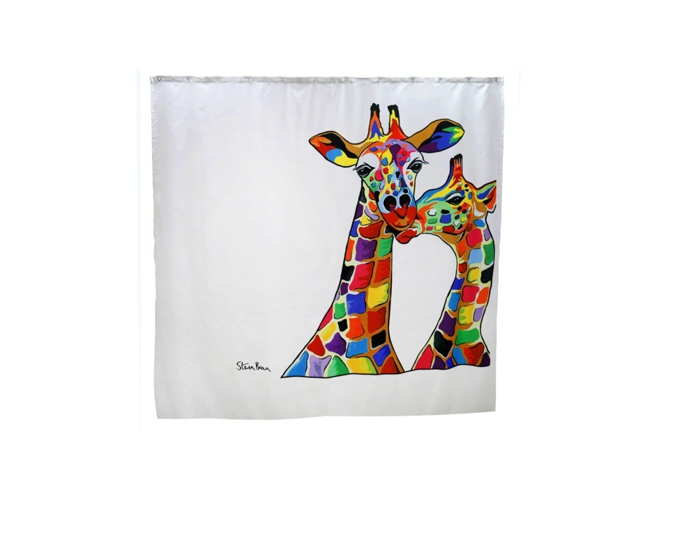 Croydex Shower Curtain - Francie & Josie