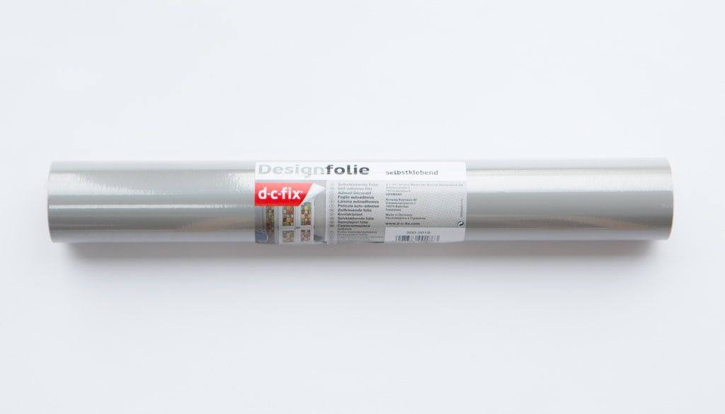 d-c-fix® Plain Sticky Back Plastic 45 x 15 - Matt Grey