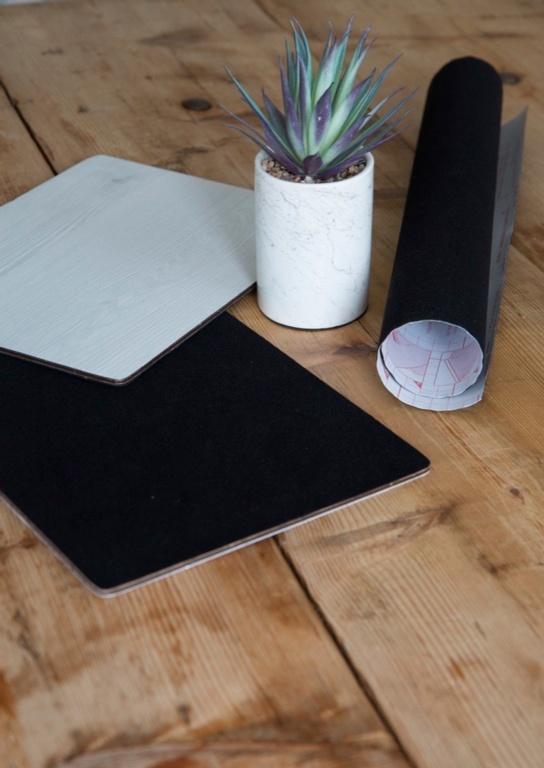 d-c-fix® Sticky Back Plastic 90cm x 5m - Velour Black