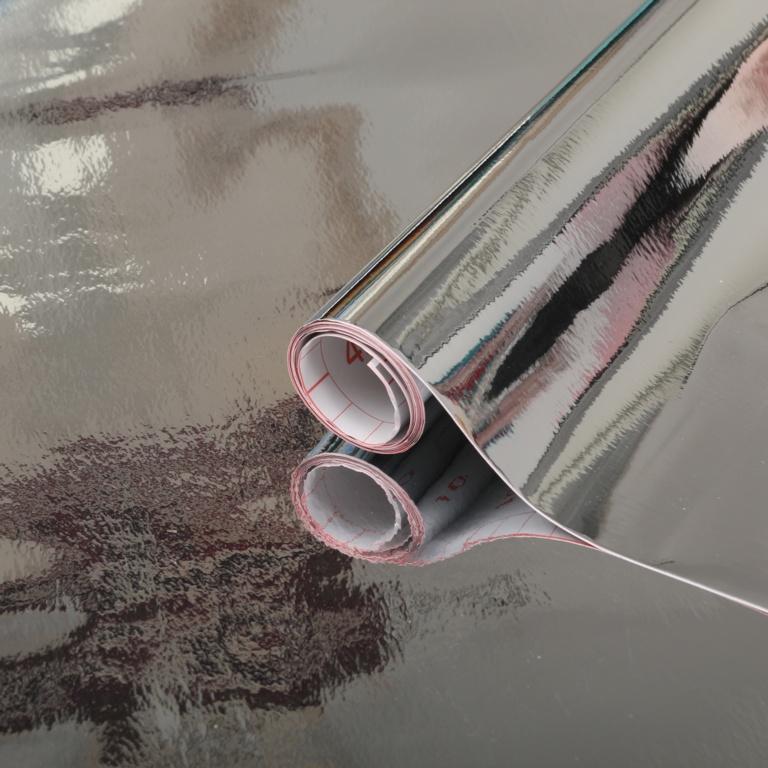d-c-fix® Self Adhesive Film Glossy Silver - 45cm x 1.5m