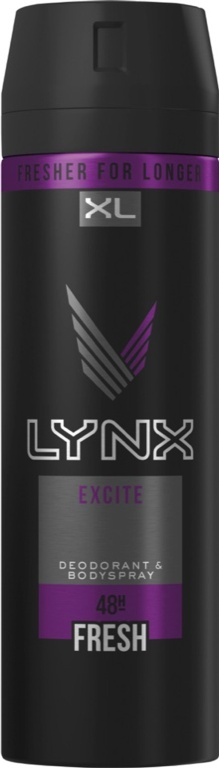 Lynx Body Spray 200ml - Excite