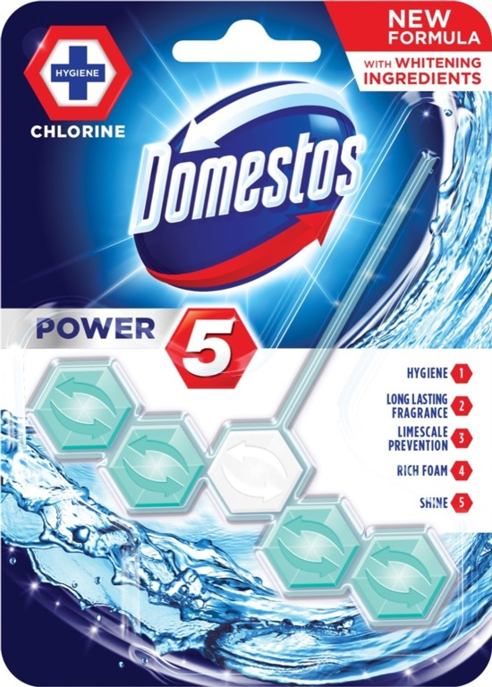 Domestos Power 5 Rimblock - Bleach