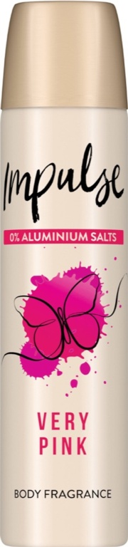 Impulse Body Spray 75ml - Very Pink