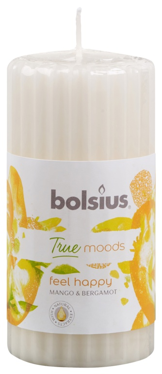 Bolsius Pillar Candle - Feel Happy
