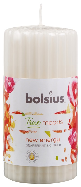 Bolsius Pillar Candle - New Energy