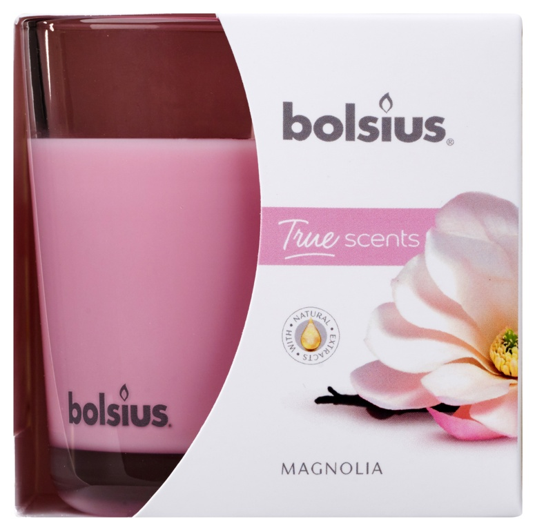 Bolsius Fragranced Candle In A Glass - Magnolia