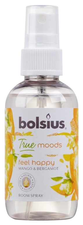 Bolsius Room Spray 75ml - Feel Happy