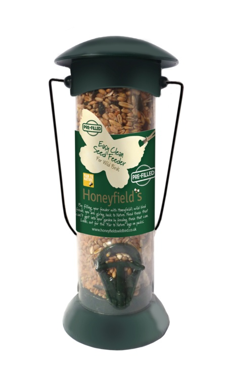 Honeyfield's Prefilled Easy Fill Seed Feeder