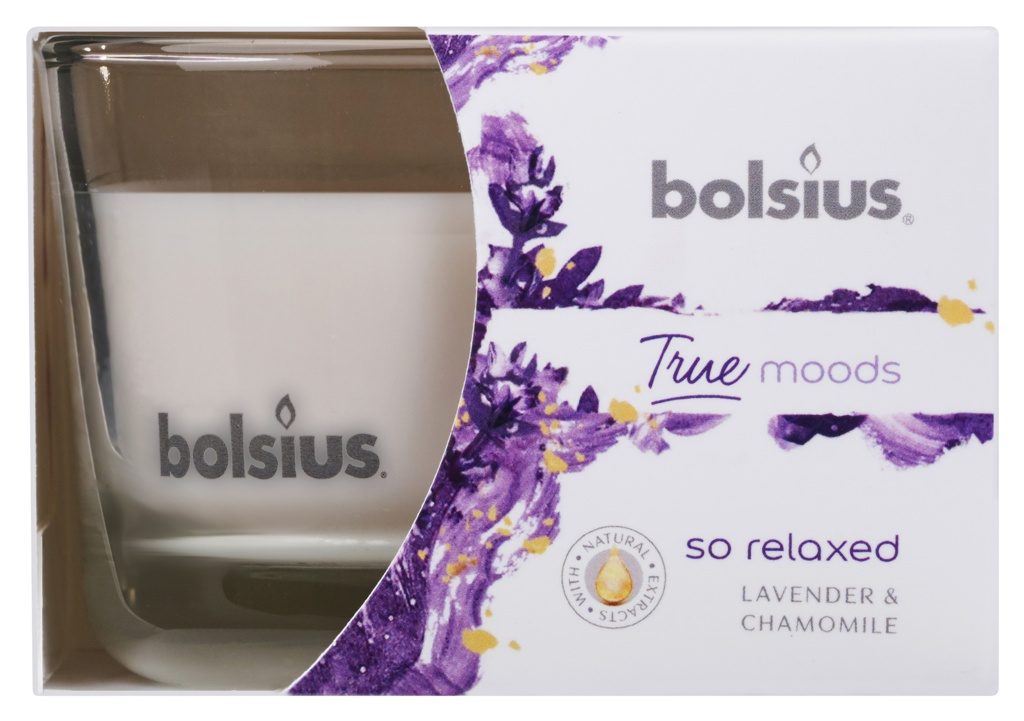 Bolsius Fragranced Candle In A Glass - So Relaxed