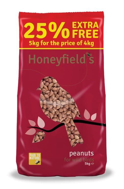 Honeyfield's Peanuts - 5kg