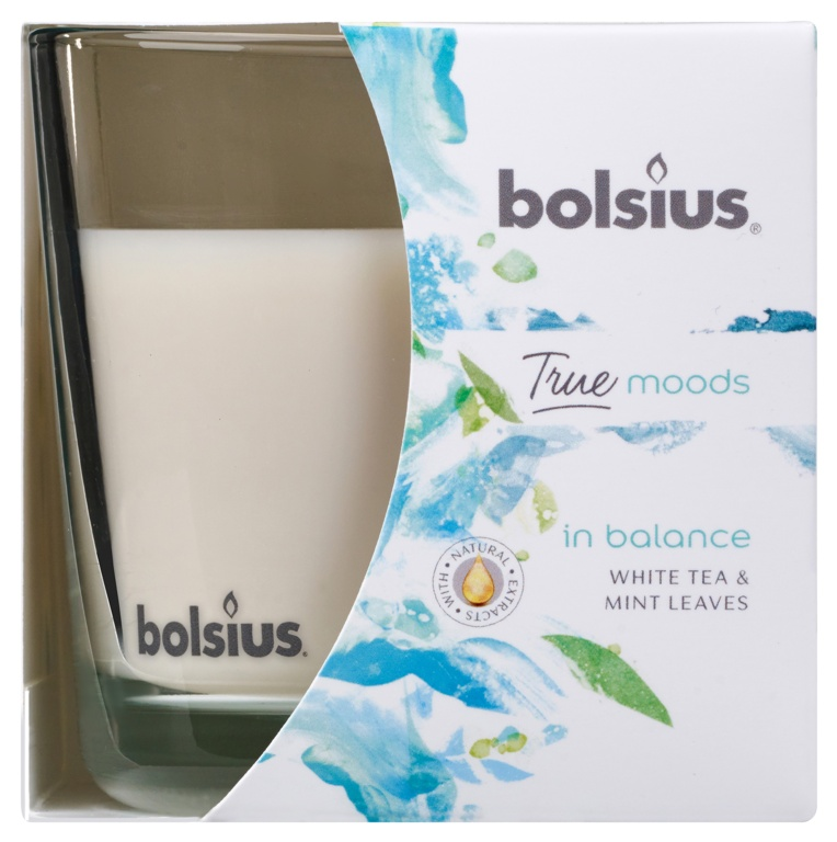 Bolsius Fragranced Candle In A Glass - In Balance