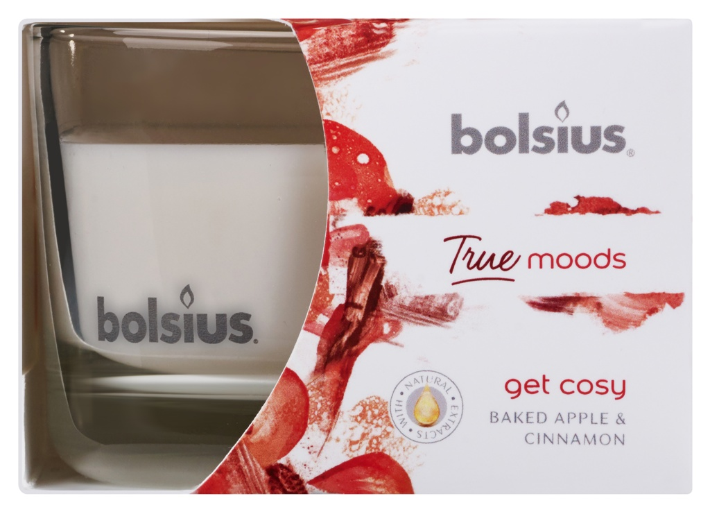 Bolsius Fragranced Candle In A Glass - Get Cosy 63/90