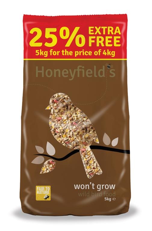Honeyfield's Won't Grow Wild Bird Food - 5kg
