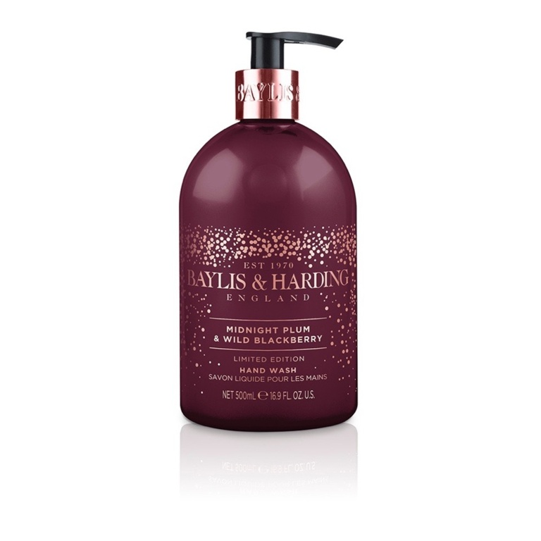 Baylis & Harding Hand Wash 500ml - Midnight Plum & Blackberry