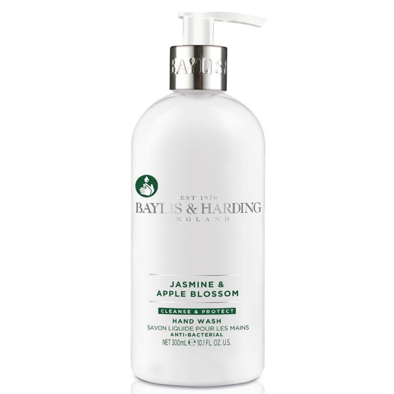 Baylis & Harding Anti Bacterial  Hand Wash 300ml - Jasmine & Apple Blossom