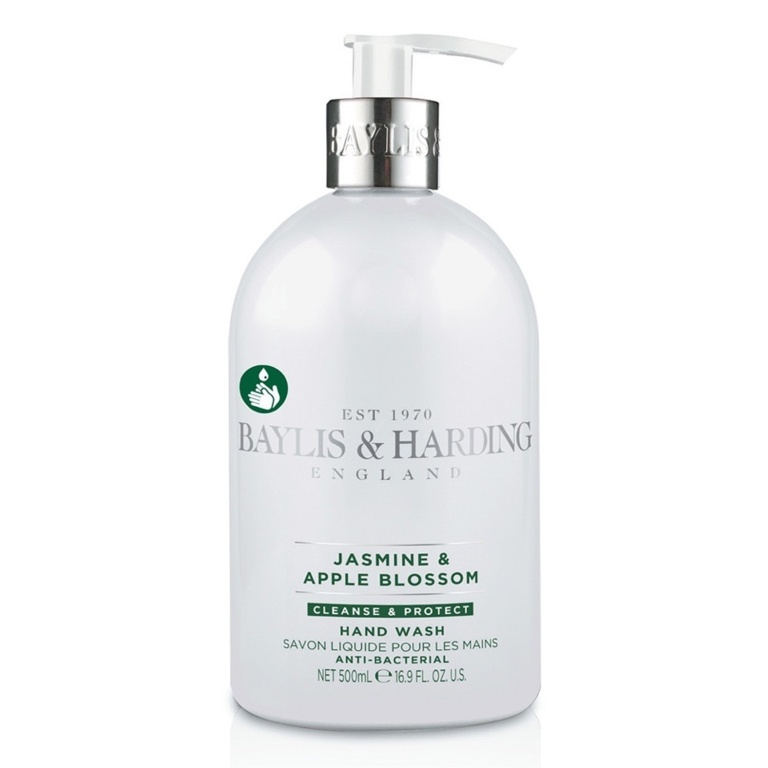 Baylis Harding Jasmine & Apple Blossom Anti Bac Hand Wash - 500ml