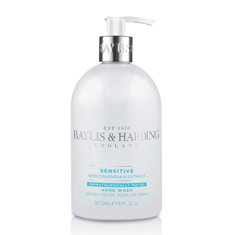 Baylis & Harding Hand Wash 500ml - Sensitive Fragrance Free