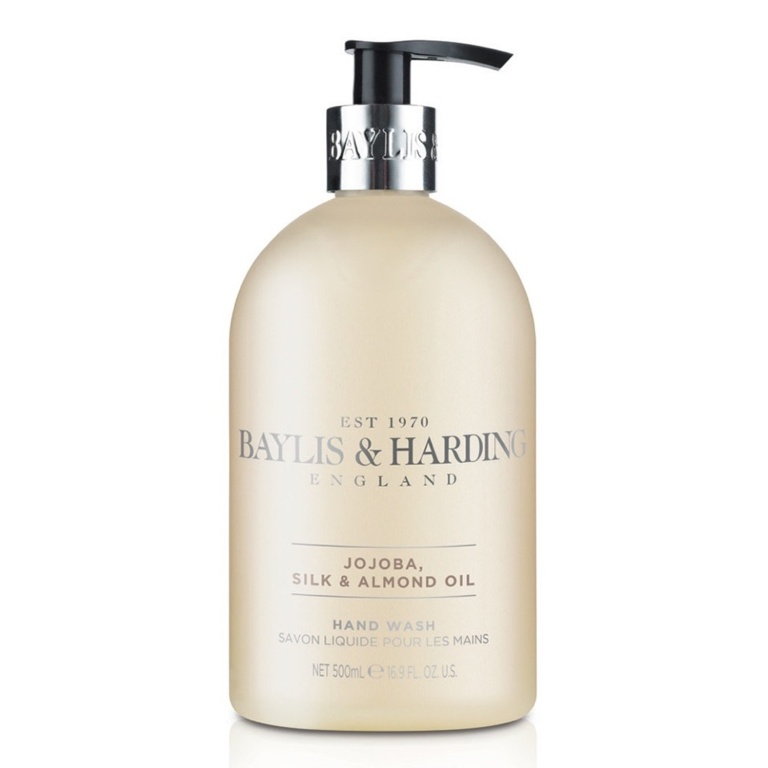 Baylis & Harding Hand Wash 500ml - Jojoba Silk & Almond Oil
