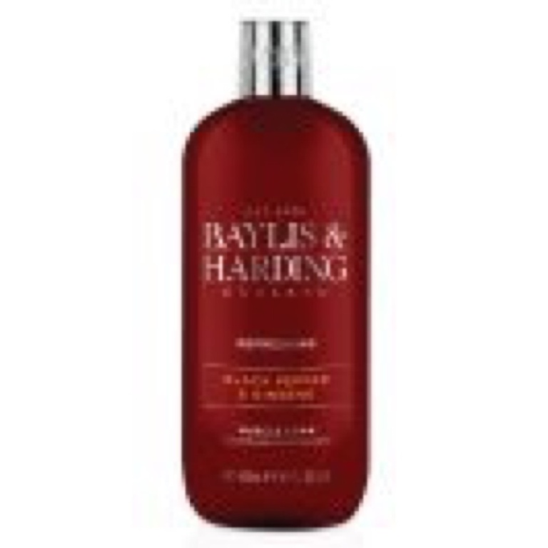 Baylis & Harding Muscle Soak 500ml - Black Pepper & Ginseng
