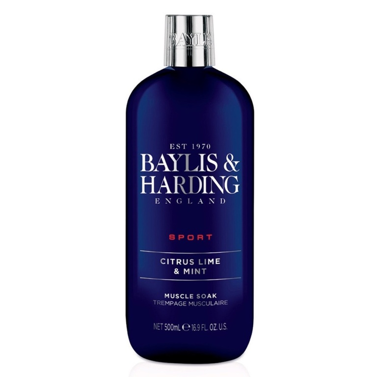 Baylis & Harding Muscle Soak 500ml - Citrus Lime & Mint