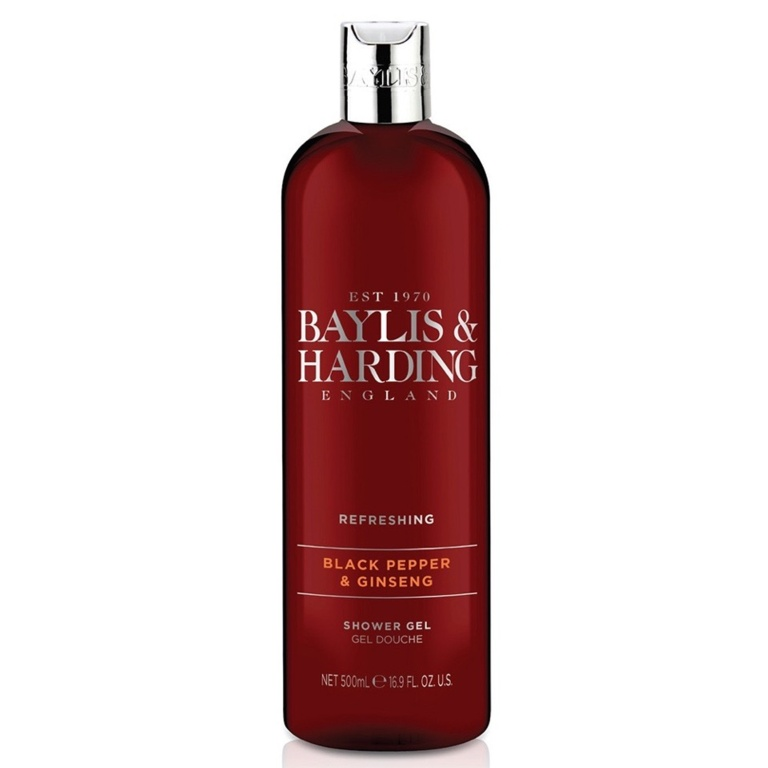Baylis & Harding Moisturising Shower Gel 500ml - Black Pepper & Ginseng