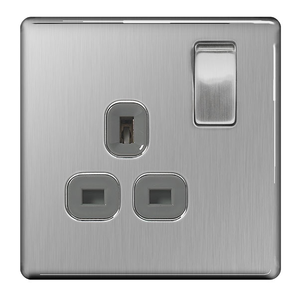 BG Switched Socket 1 Socket Double Pole - 13a