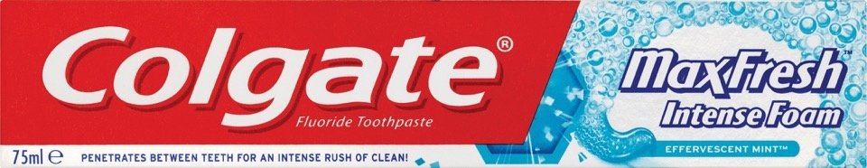 Colgate Toothpaste Max Fresh Intense Foam - 75ml